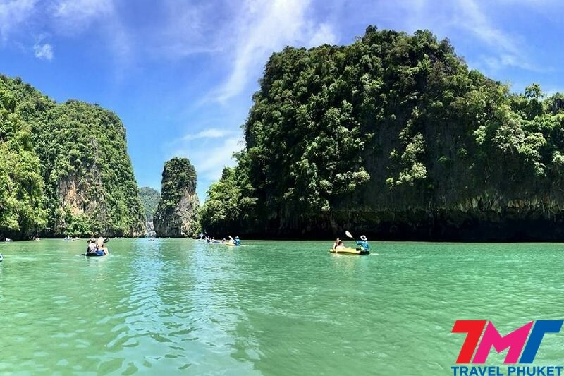 PHANG NGA BAY(JAMES BOND ISLAND) BY SPEEDBOAT