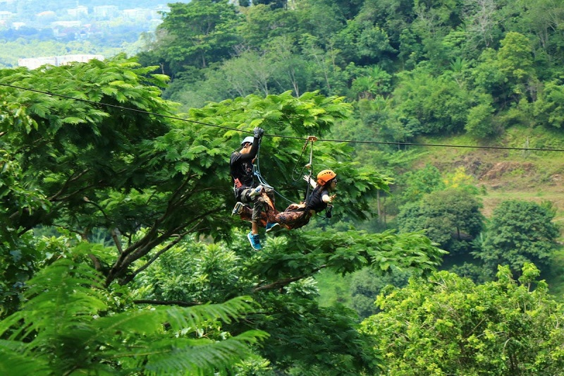 HANUMAN FLYING ZIPLINE ADVENTURE